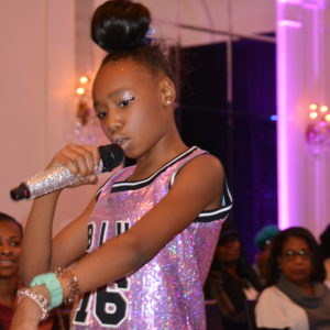 "Photo Shoot Interview With ""Kayciblu"" At The 5th Golden Kids Runway For A Cause Event In New York City"