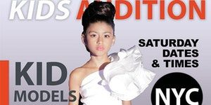KIDS FASHION SHOW AUDITION – KIDS 9 TO 15 YEARS OLD MODEL OPEN CALL AUDITION IN NYC