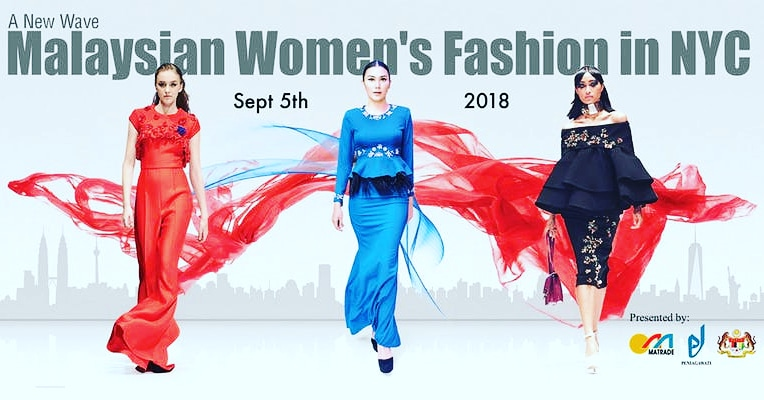 A New Wave – See The Latest Fashions From Malaysian Women Designers Coming To New York!